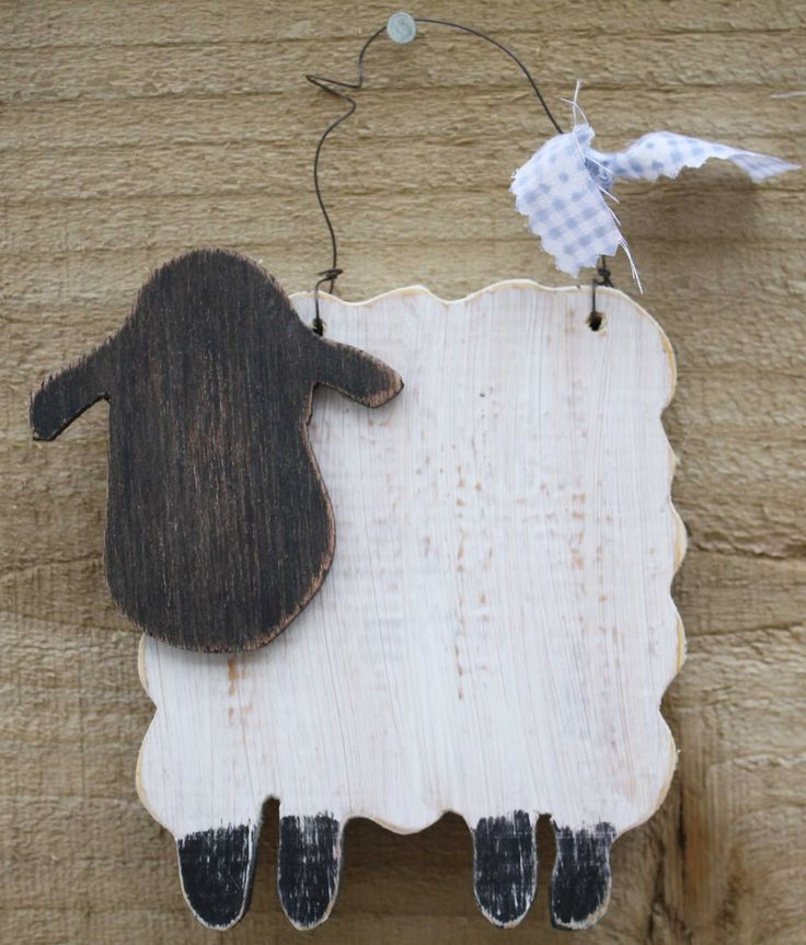 KR Creatives: Handmade Wooden Gifts. An adorable handmade wooden sheep. Perfect to add to a collection or for a cute loving gift. 100% handmade by KR Creatives with love and care. 100% handmade in Britain.