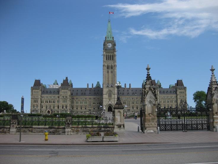 "Ottawa, Ontario, Canada.  ""Oh Canada!"" (Photo by Anita, April 2010)"
