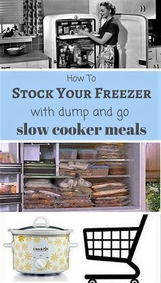 Lists out 30 recipes you can make in freezer bags stock the freezer