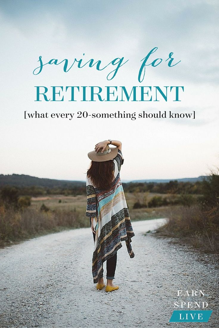Here are some of the most important things you should know about saving for retirement in your 20s.