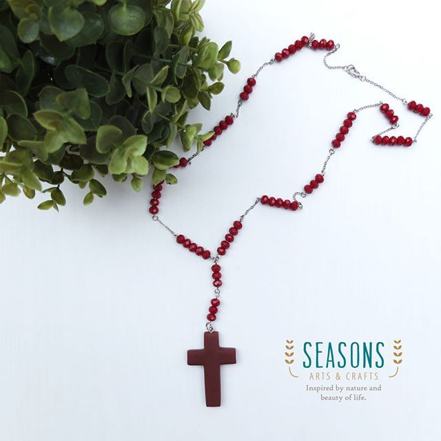 #customorder #crossnecklace The cross is well made by #clay  #handmadeaccessories #handmadeclay #madewithlove #whiteaddict #handmadejewelry #handmadenecklace #crosscharm #clayart #claycraft #claycreations #airdryaclay #jualclay #jualaccessories #kalungclay #clayjakarta #jualkalung #kalunghandmade