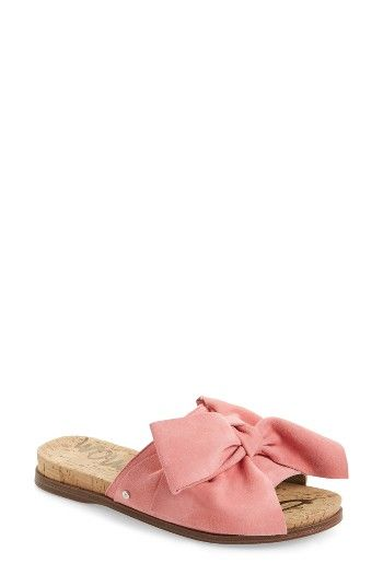 Free shipping and returns on Sam Edelman Henna Slide Sandal (Women) at Nordstrom.com. A big knotted bow at the vamp makes this slide sandal so utterly charming and fresh.