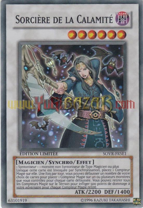 700 livres en euros | Sorcière de la Calamité - Cartes à l'unité Yu-Gi-Oh!