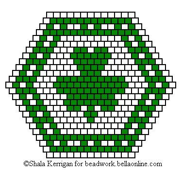 Brick Stitch St. Patrick's Day Pin Patterns - Beadwork