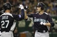 Ichiro a hit in Seattle's loss to Hanshin Tigers