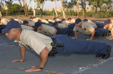 Ace any police physical fitness test