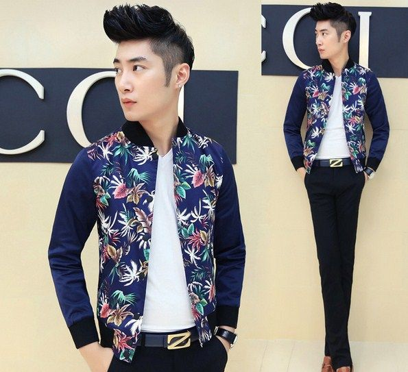 Find More Jackets Information about Leaf Printed Chinese Style Vintage Bomber Slim Fashion Jacket Free Shipping,High Quality Jackets from Great Store -- Manufactory Supply on Aliexpress.com