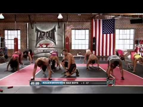 """Check out a sneak peak of the TapouT XT Killer Move called """"The Bad Boy"""" from the soon to be released Drench XT.  Drench XT is one of the 10 brand new TapouT XT workouts that are part of TapouT XT2.  TapouT XT2 is available for pre-sale with free shipping through February 18th 2013.  To learn more go to www.tapoutxt.com/xt2-index.html.  Are you ..."""