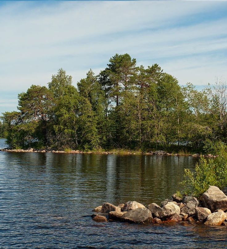 Oulujärvi  Lake,Finland