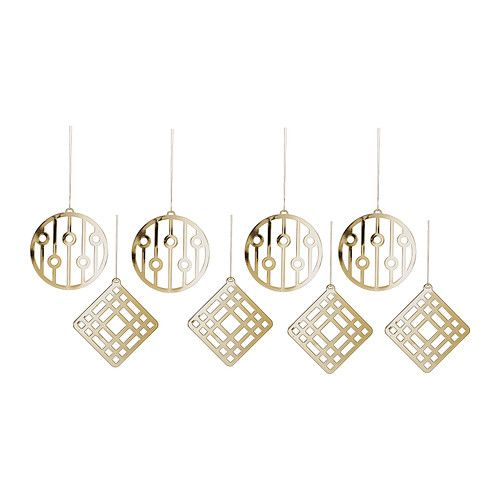 IKEA - VINTERMYS, Hanging decoration, Easy to hang up since it comes with string already attached.