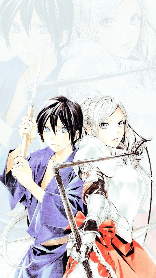 Noragami Yato and Bishamon anime couples Pinterest