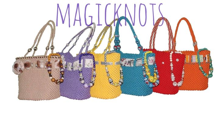 macrame bag https://www.youtube.com/watch?v=OifE9lbdjNA