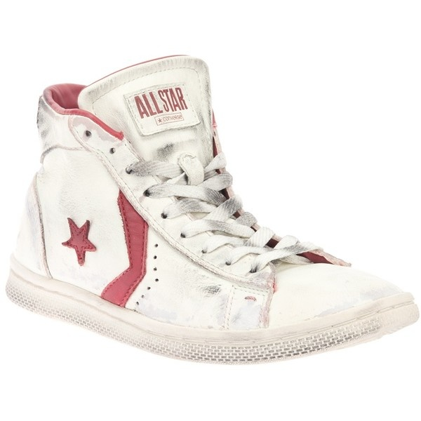 CONVERSE LIMITED 'Star Player' hi-top ($205) ❤ liked on Polyvore