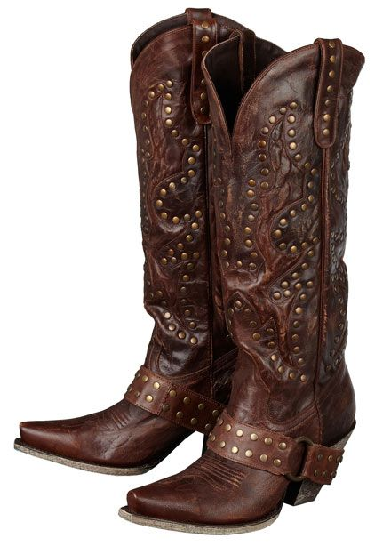 Lane Boots Women's 'Stud Rocker' Cowboy Boots (Brown) $357