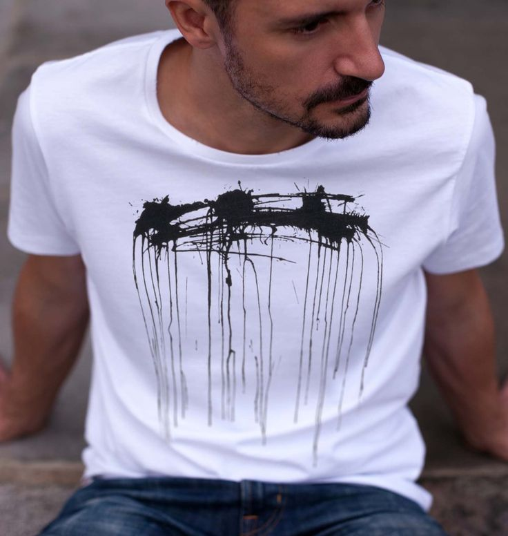 Spray Paint T-shirt | Free Worldwide Delivery | Urban Gilt