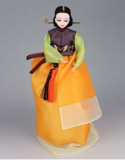 한복 Hanbok doll