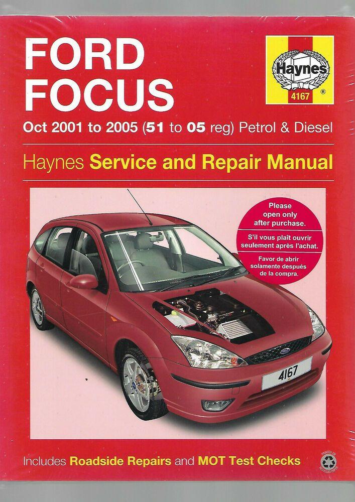 Haynes New Sealed Ford Focus Service And Repair Manual Petrol Tddi