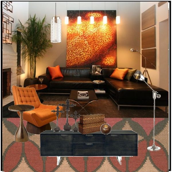 A Contemporary Guyu0027s Pad Inspiration. Find This Pin And More On Home Decor  ...