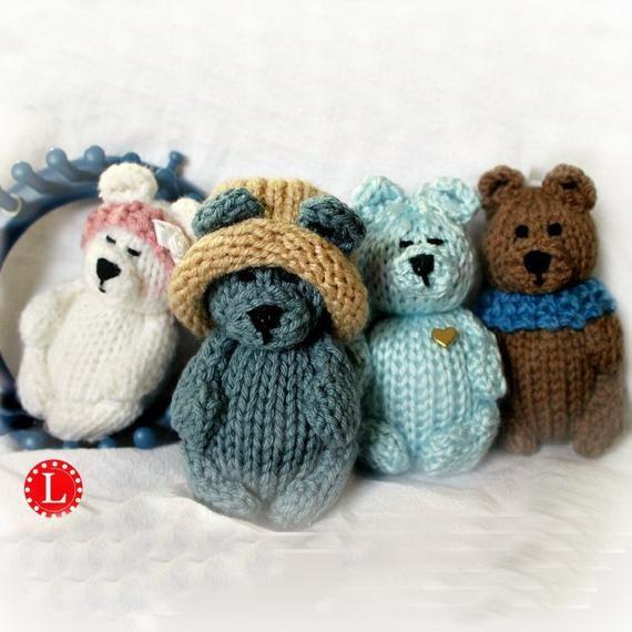 Crochet bear amigurumi pattern | Amiguroom Toys | 570x570