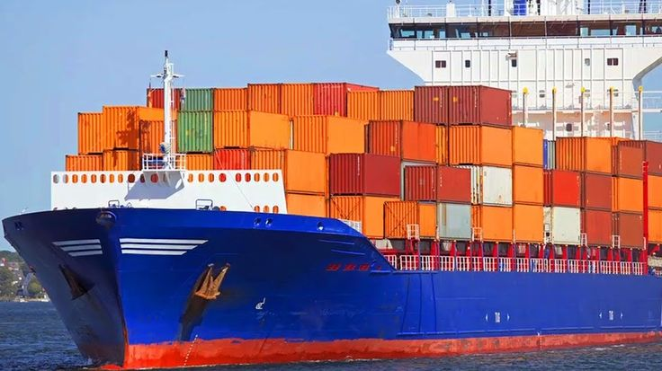 Two container ships pass in San Francisco Bay scitech Pinterest - contract between two companies for services