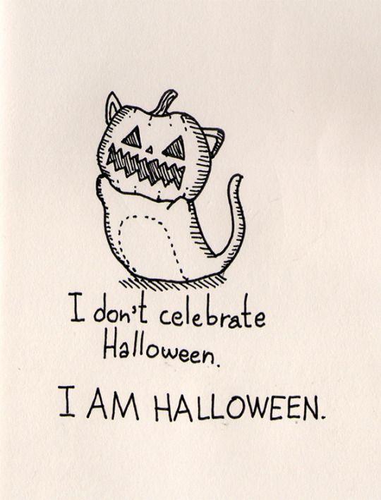 I Dont Celebrate Halloween Am