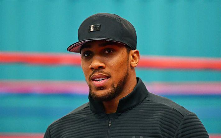 Lataa kuva Anthony Joshua, Muotokuva, Brittiläinen nyrkkeilijä, IBF maailmanmestari, WBA, nyrkkeily