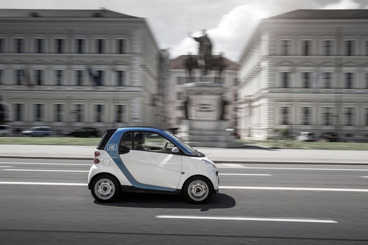 car2go in Munich  #car2go #car #munich #berlin #smart #carsharing