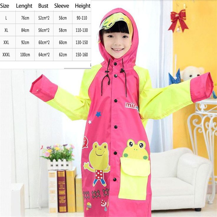 >> Click to Buy << Kids Raincoat Children Waterproof Boys Long Cute Impermeables Para Lluvia Girls Poncho Impermeable Backpack Rain Cover DDG449 #Affiliate