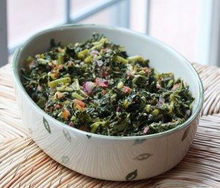 Fresh or Frozen Kale With Garlic and Peppers