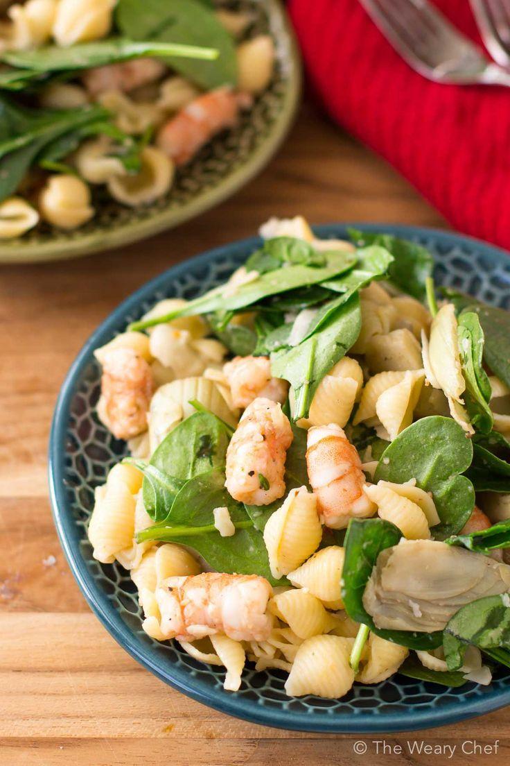 Spicy shrimp pasta salad recipe