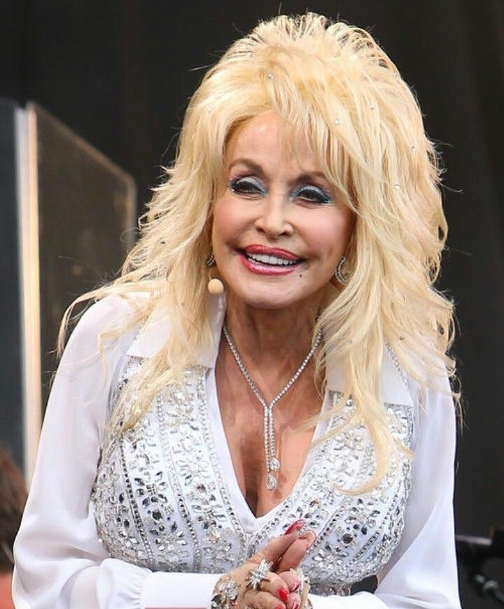 Wig Dolly Parton And Makeup Without