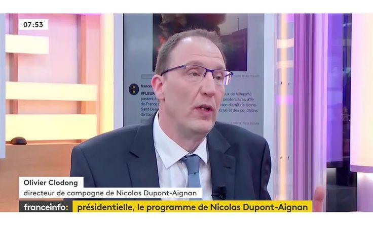 Olivier Clodong DLF invité de France Info tv