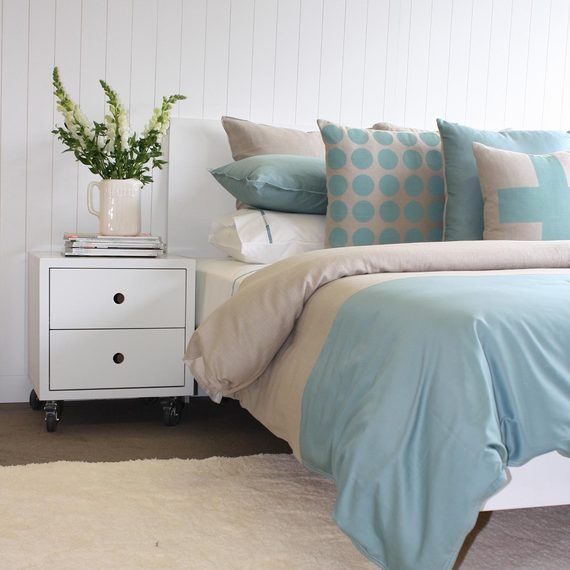 A stylish new duvet cover which is made in NZ #OFHNZ