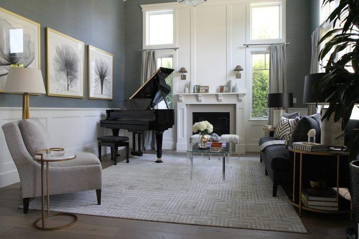 Drapery Idea for living room. Jeff Lewis, W 02
