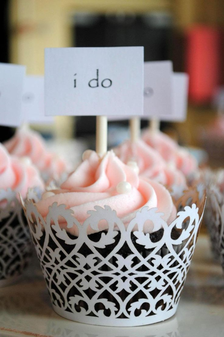 17 Best Ideas About Bridal Shower Desserts On Pinterest
