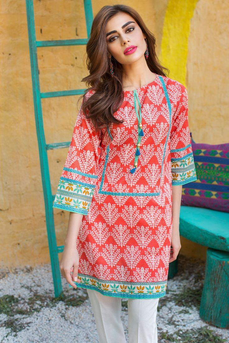 Khaadi – J17257-A-PINK - Lawn 2 Piece Collection - Unstitched