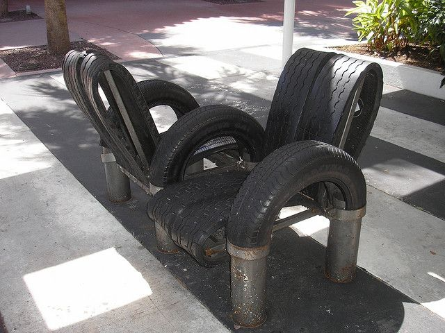 57 best tire chairs images on pinterest recycle tires for Tyre furniture