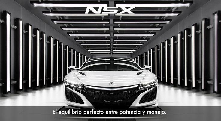 Su carrocería le otorga una aerodinámica perfecta y su apariencia es como arte para la vista. #InspiradoEnTi #ADNAcura #NSXenLeon