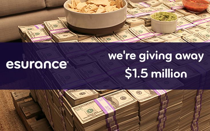 Insurance company Esurance picks a $1.5 million tweet. Entering into the sweepstakes was easy, tweet something and include #EsuranceSave30. The goal of the campaign was to raise brand awareness. The following day, 2.39 million people had entered the contest, including 200,000 entries that streamed in within one minute of the spot airing. Result : generated over 1 billion impressions and Twitter follower count grew from 8,900 to 155,000.