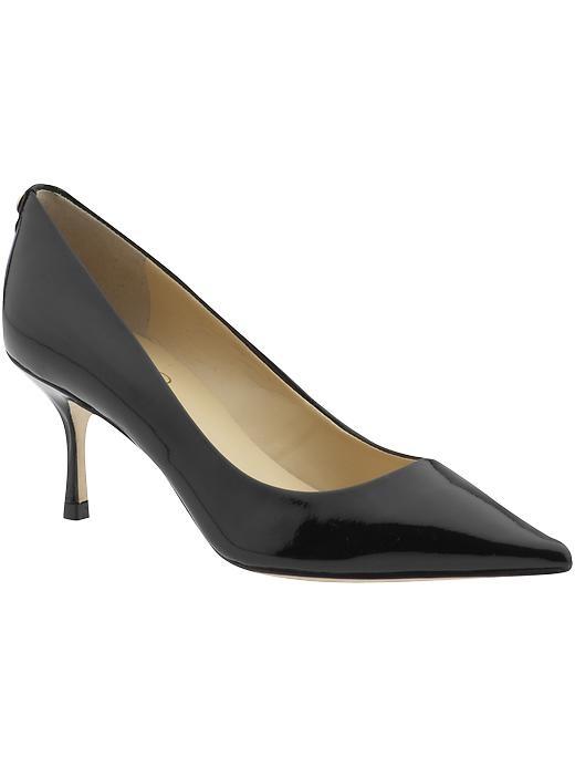 Indico patent pump | Ivanka Trump | Ivanka Trump Indico Pump. Kitten heel  pump.