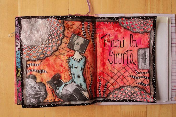 "Art Journal by *Silkku* ""Small is big"" silkkus.blogspot.fi"