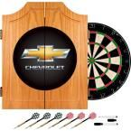 Chevrolet Wood Finish Dart Cabinet Set