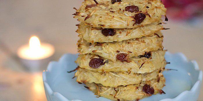 Pastinaak/appel rösti voor het ontbijt (Paleo, glutenvrij, suikervrij)