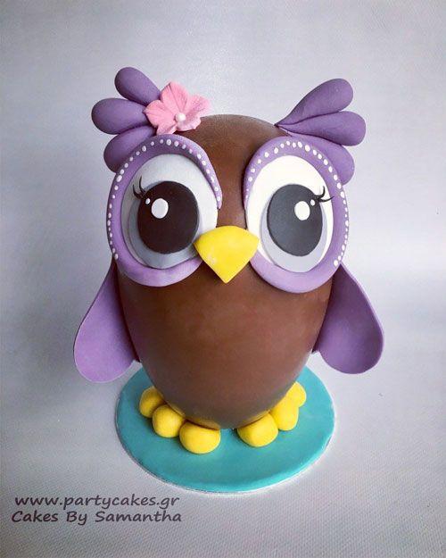 Owl Chocolate Easter Egg Recipe
