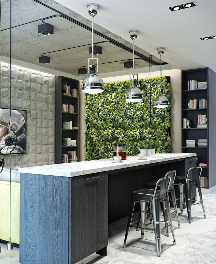 Home Designing — (via 3 Inspiring Homes With Concrete Ceilings and...