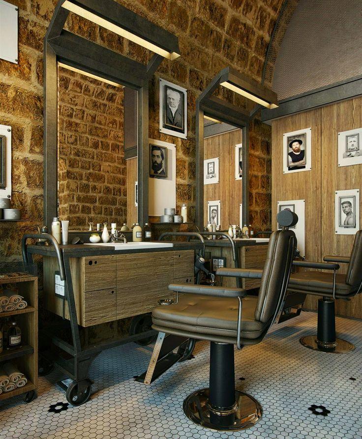 169 Best Barber Shop Interior Design Ideas Images On