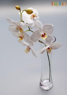 Мастер-класс орхидея из фоамирана