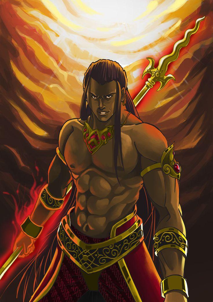 Karna Mahabharata by 8lackhand.deviantart.com on @deviantART