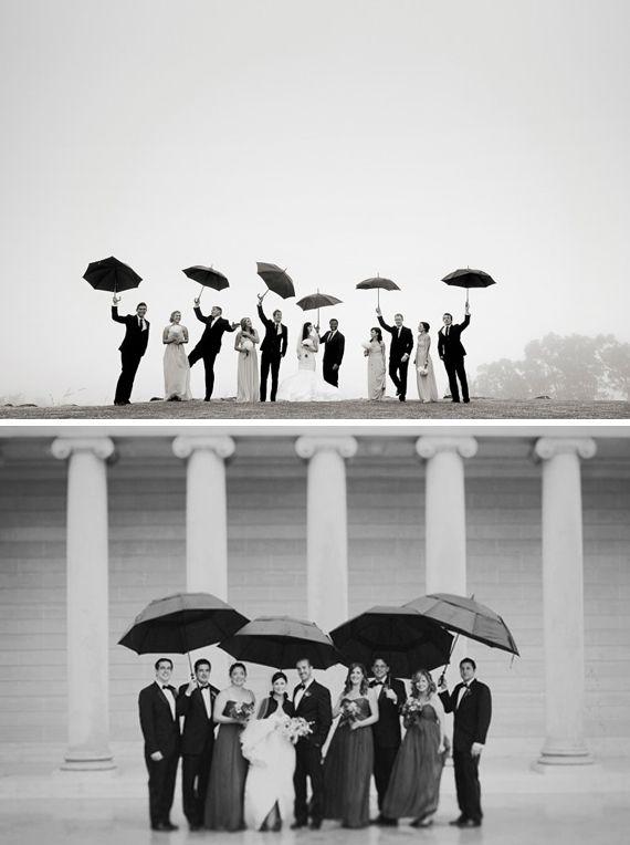 Le cortège danse sous la pluie !