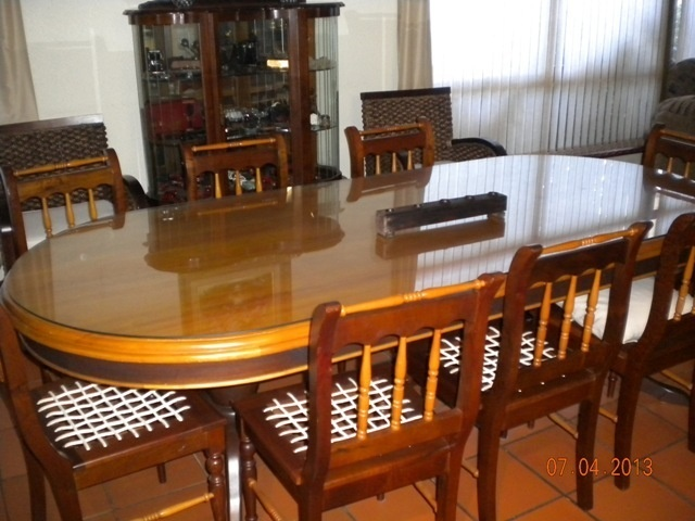 I Love Traditional South African Furniture And The Combination Of Dark Stinkwood Yellow